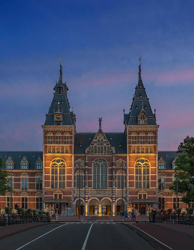 Rijksmuseum buiten