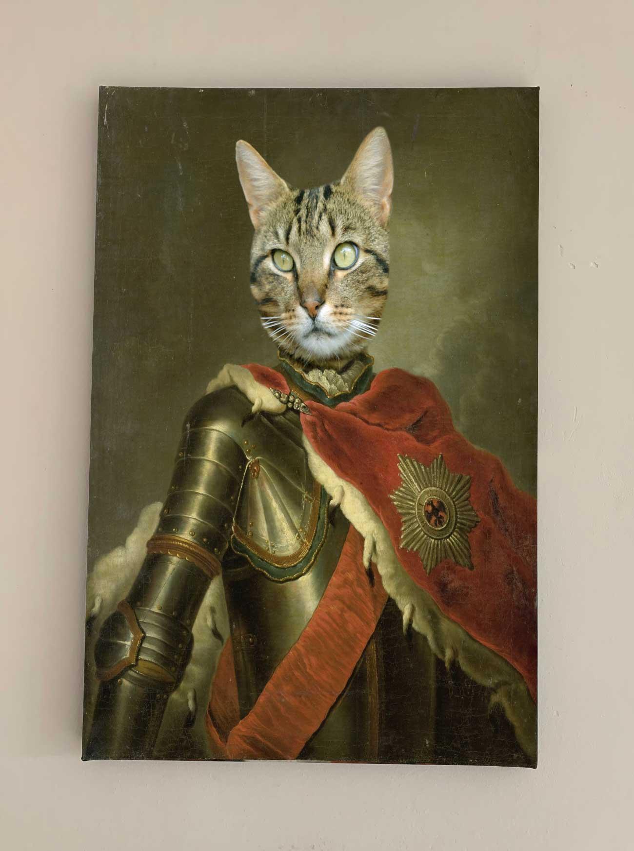 ridder met mantel 1