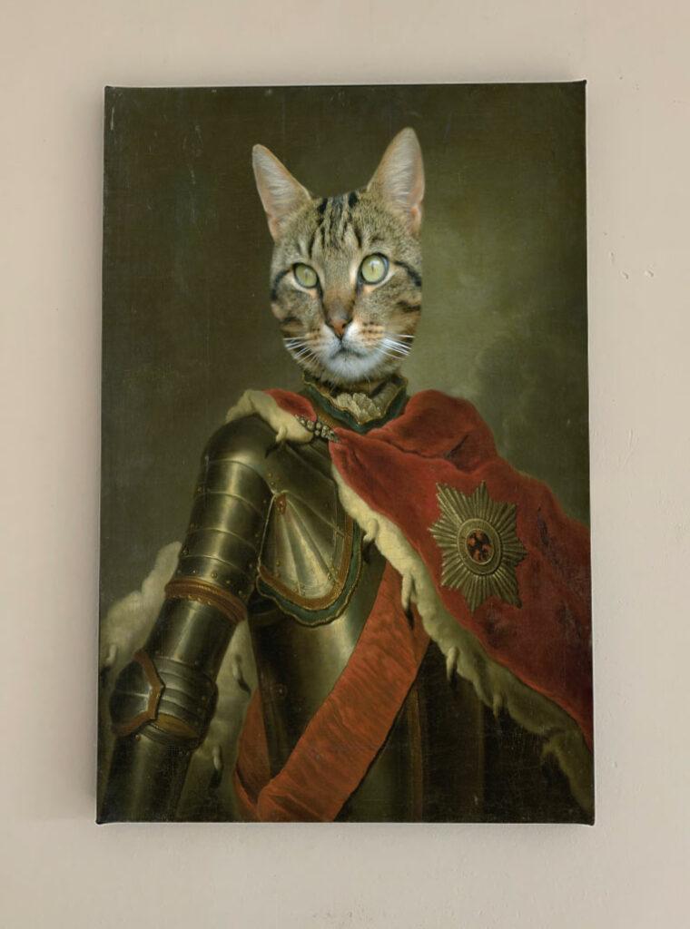 ridder met mantel