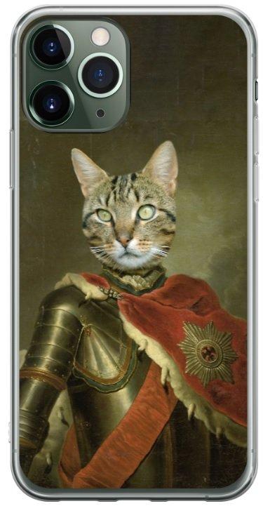 ridder met mantel telefoonhoesje