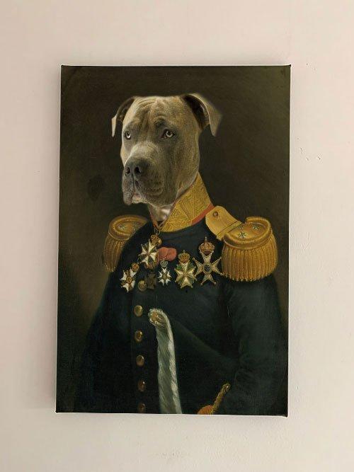 luitenant generaal canvas