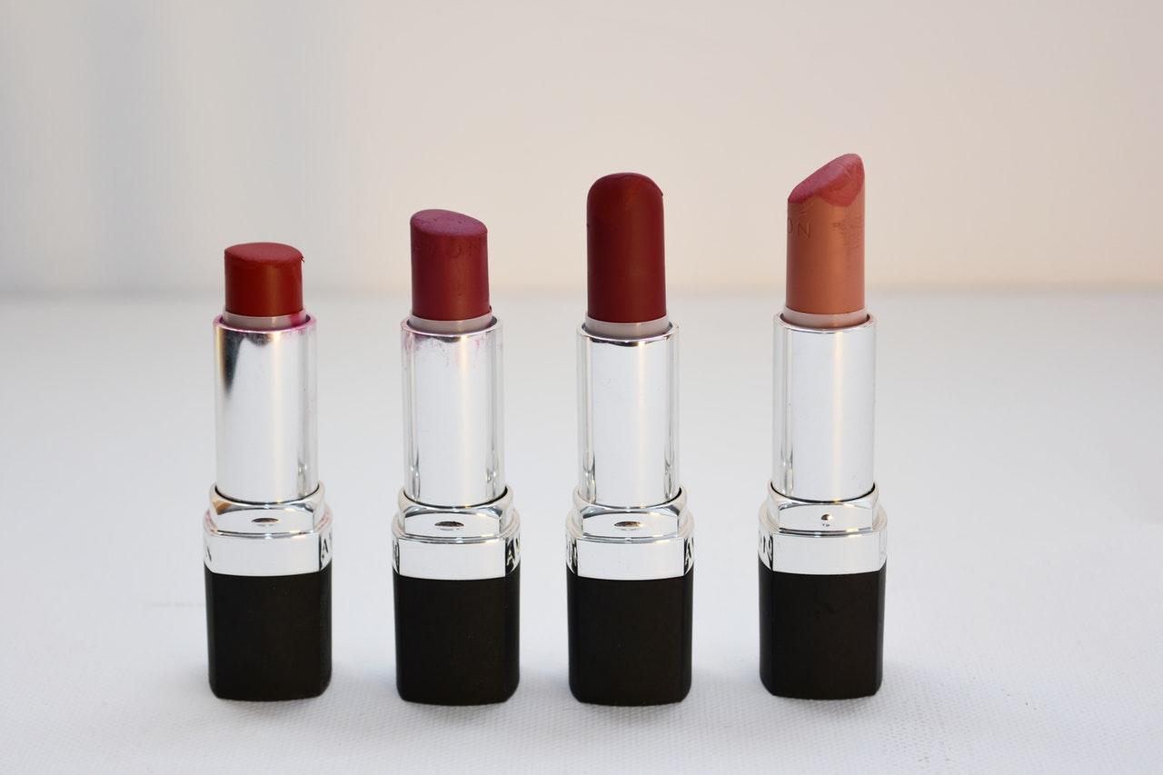 assorted cosmetics lipsticks 1625037